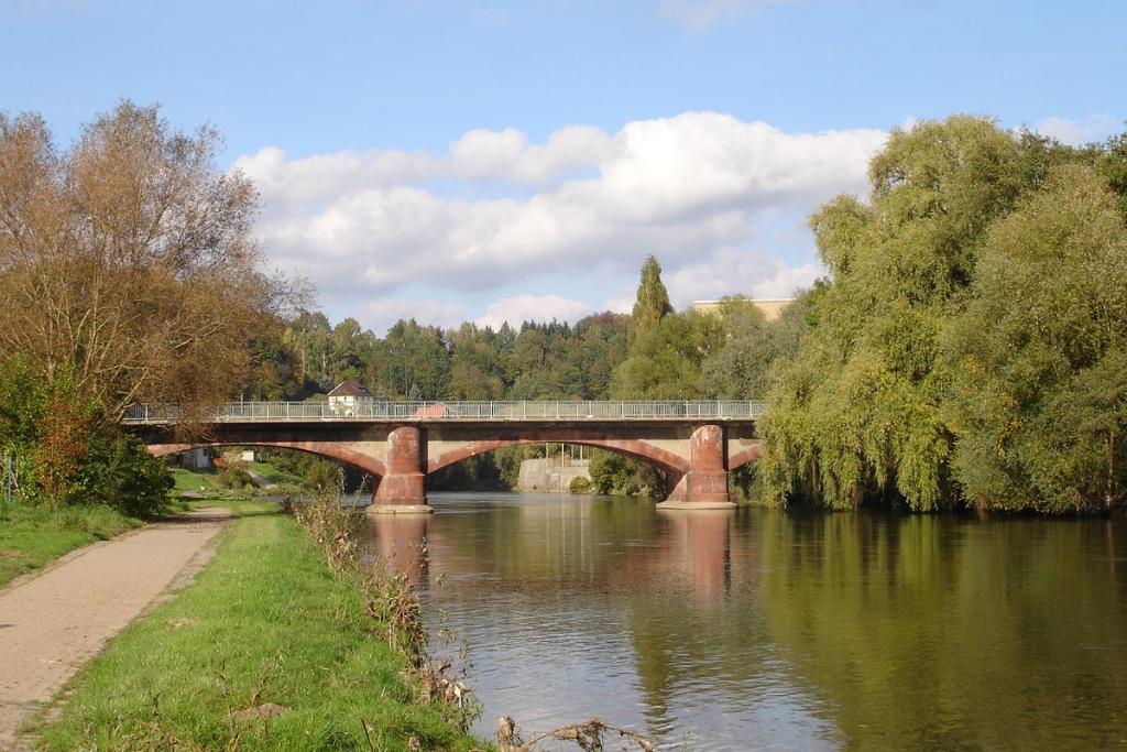 Brücke über die Zwickauer Mulde