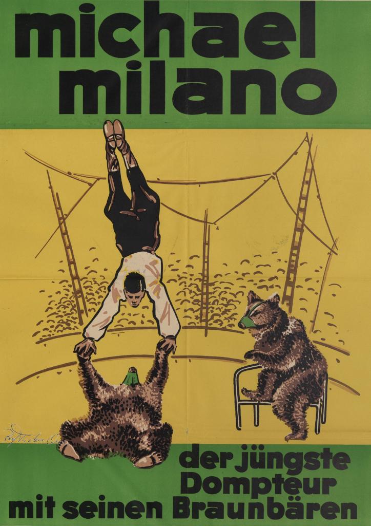 Michael Milano Handstand - Rolf Teichmann