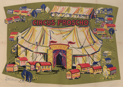Proscho-Zelt und Tierschau - Rolf Teichmann