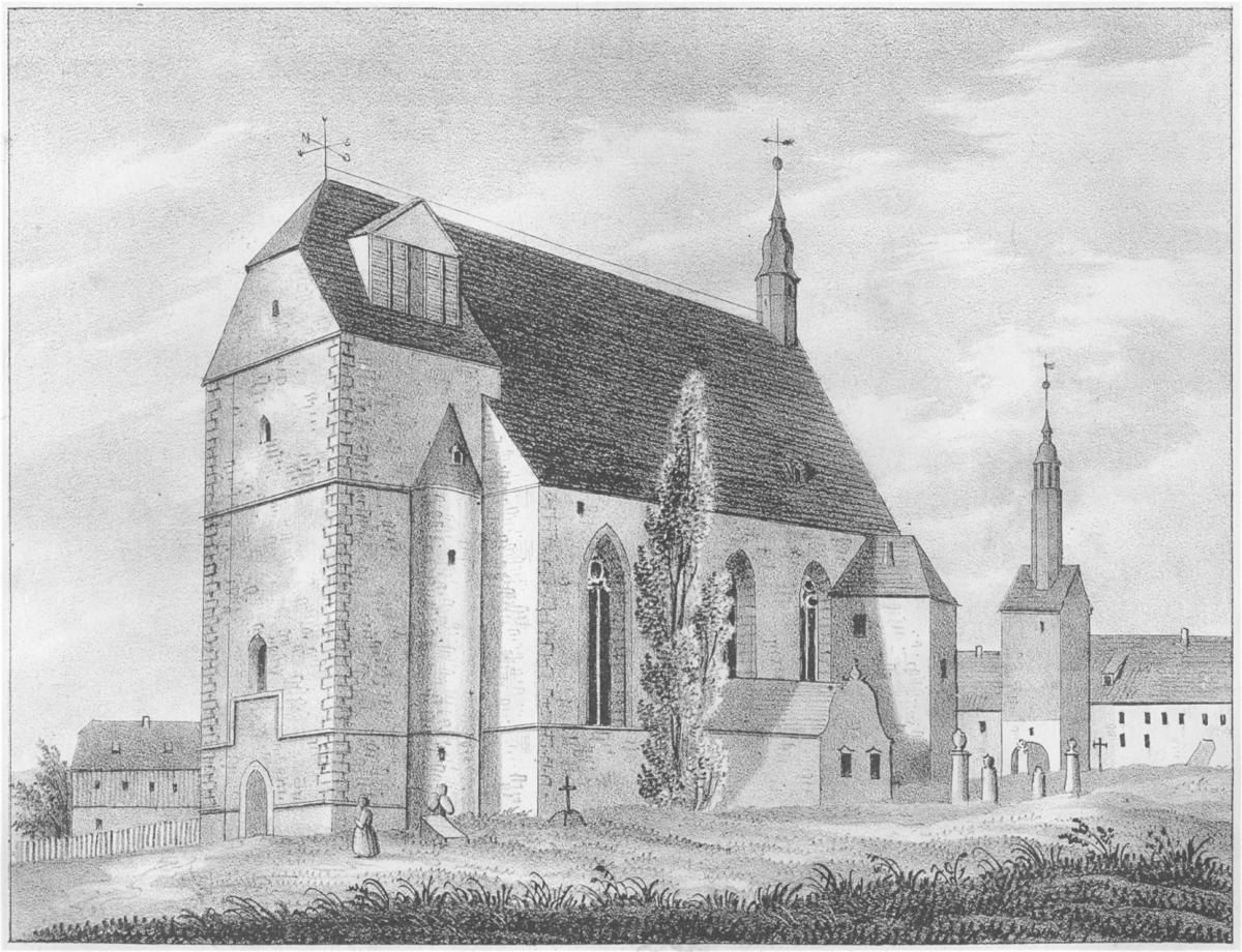 Kirche Burgstädt