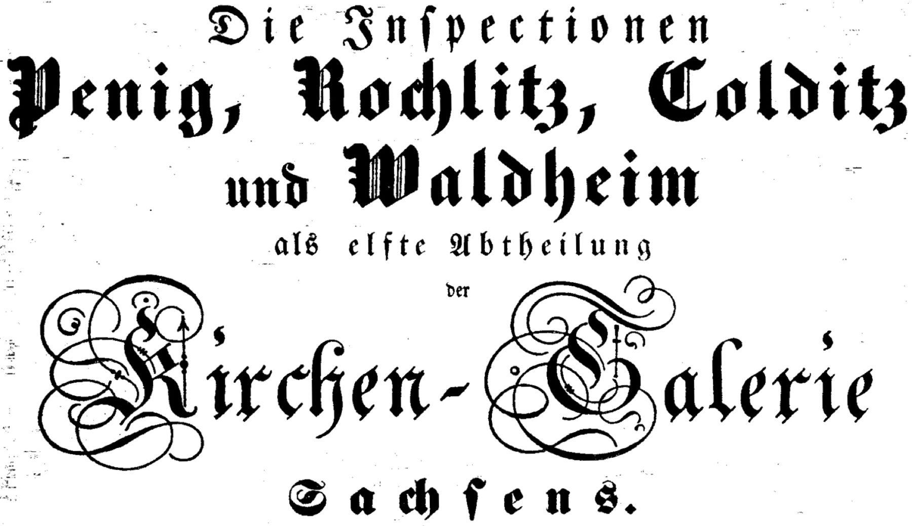 Sachsens Kirchen-Galerien (Titel)