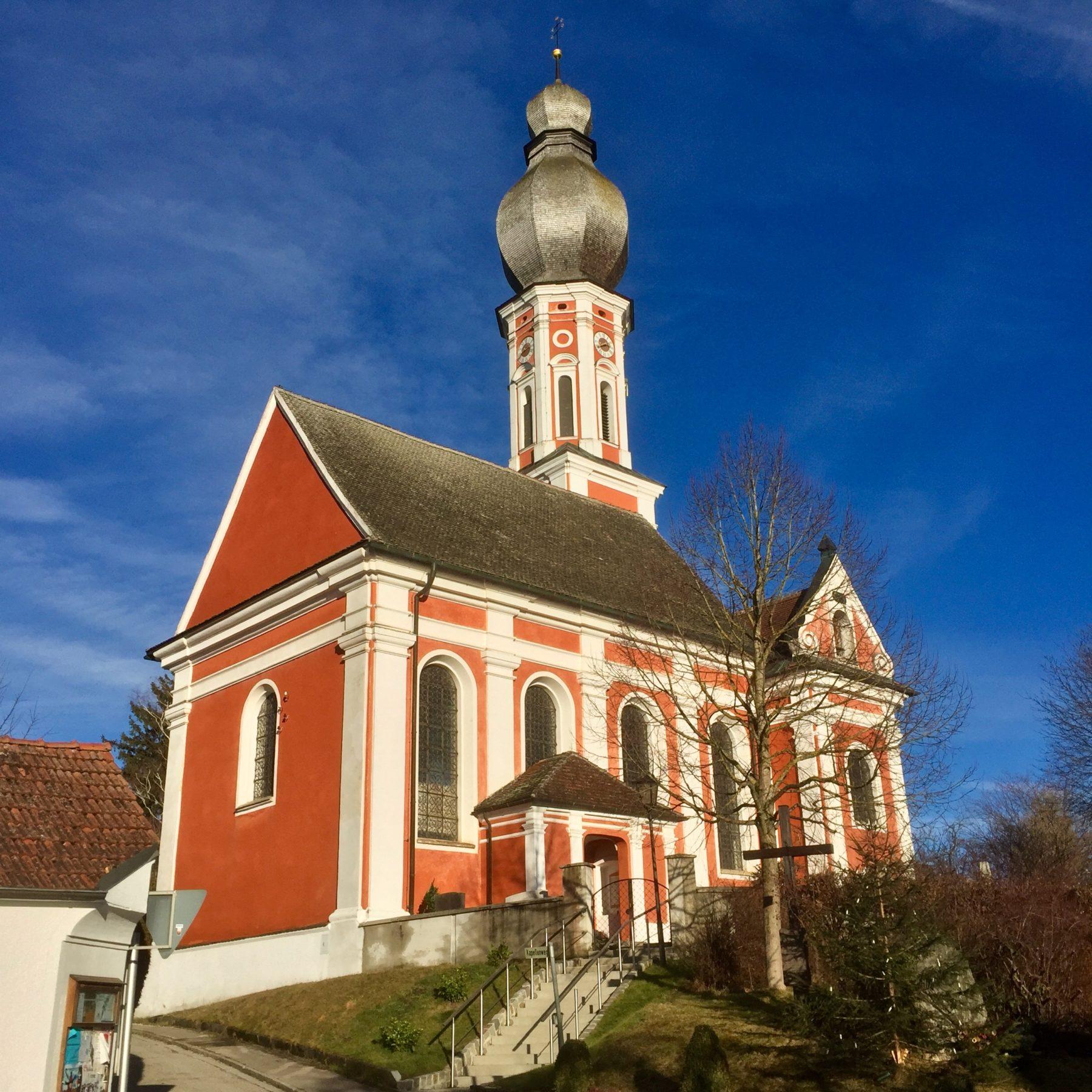 Hechenwang Kirche - am 06.01.2018